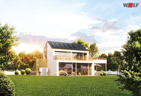 Solar - Energie aus Sonneneinstrahlung
